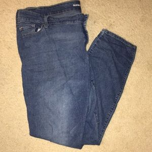 EUC old navy plus size skinny jeans